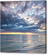 Sunset Over Naples Beach II Canvas Print
