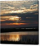 Sunset Over Navarre Canvas Print