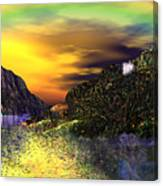 Sunset Over Paradise Canvas Print