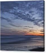 Sunset Over Rye New Hampshire Coastline Canvas Print