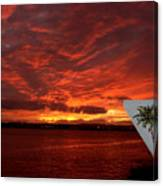 Sunset Over San Diego Canvas Print