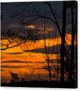 sunset over Suwanee 2010 Canvas Print