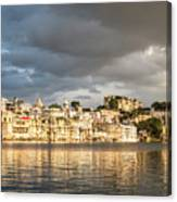 Sunset Over Udaipur Canvas Print