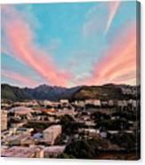 Sunset Over Uh Manoa Canvas Print
