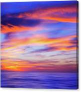 Sunset Palette Canvas Print