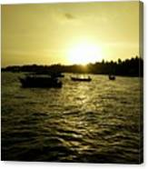 Sunset Point Canvas Print