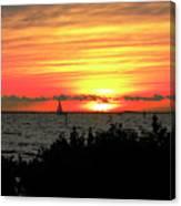 Sunset Punta Gorda Fl Canvas Print