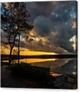 Sunset Reflection Canvas Print