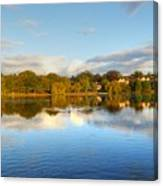 Sunset Reflections On The Lake Canvas Print