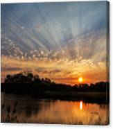 Sunset Refuge Canvas Print