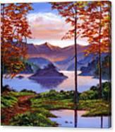 Sunset Reverie Canvas Print