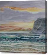 Sunset Romance Canvas Print