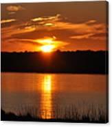 Sunset Salisbury Mass Canvas Print