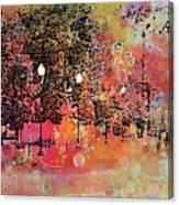 Sunset Saunter Canvas Print