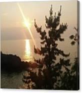 Sunset Scenic Canvas Print