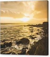 Sunset Seascape Canvas Print