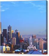 Sunset Seattle Canvas Print