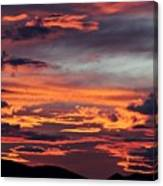 Sunset Skies 052814d Canvas Print