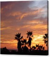 Sunset Sky Over Baja Canvas Print