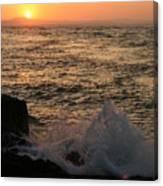Sunset Splash Canvas Print