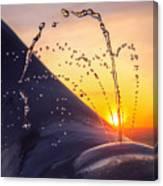 Sunset Spout 0017 Canvas Print