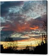 Sunset Street Canvas Print
