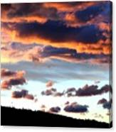 Sunset Supreme Canvas Print