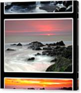 Sunset Triptych Canvas Print