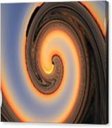 Sunset Twist Canvas Print