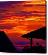 Sunset Va 4736 Canvas Print