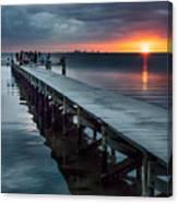 Sunset Watch Canvas Print