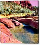 Sunset Zion National Park Canvas Print