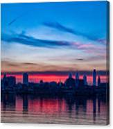 Sunsets Over Philly Canvas Print