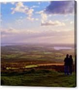 Sunsets Over The Irish Midlands Canvas Print