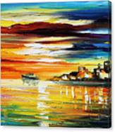 Sunset's Smile Canvas Print