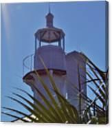 Sunshine At The Lighthouse Canvas Print
