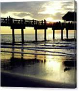 Sunshine At The Pier 60 Canvas Print