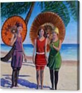 Sunshine Girls Canvas Print