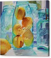 Sunshine In A Jar Canvas Print
