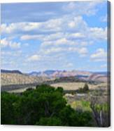 Sunshine On The Mountains - Verde Canyon Canvas Print