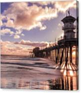 Sunshine Pier Canvas Print