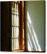Sunshine Streaming Through Window Canvas Print