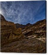 Sunstar Over Mosaic Canyon - Death Valley Canvas Print