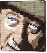 Suntan John Wayne Canvas Print