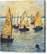 Sunwashed Sailors Canvas Print