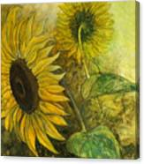 Sunworshipper II Canvas Print