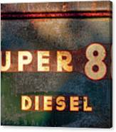 Super 88 Diesel Canvas Print
