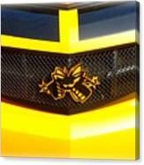 Super Bee Camaro Grill Canvas Print