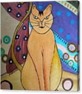Super-cat Canvas Print