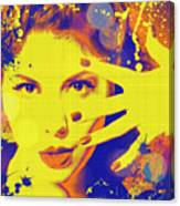 Super-girl. Canvas Print